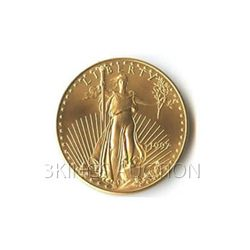 One-Tenth Ounce 1997 US American Gold Eagle Uncirculate