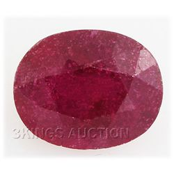 5.38ctw African Ruby Loose Gemstone