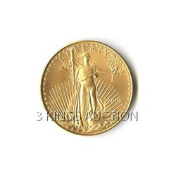 One-Tenth Ounce 2005 US American Gold Eagle Uncirculate