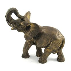 Artcrafted Elephant Made of Brass Symbol for Power, Vic