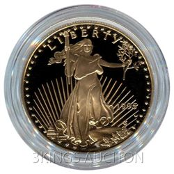 Proof American Gold Eagle One Ounce - In Capsule (Dates