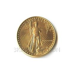 Uncirculated One-Tenth Ounce 1988 US American Gold Eagl
