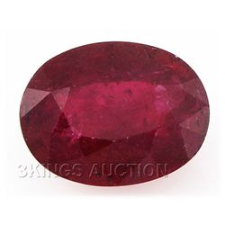 9.22ctw African Ruby Loose Gemstone
