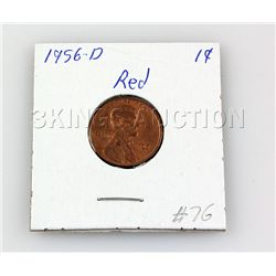 Red Pennies (1949/1948/1944/1956 & 1940) - 5 pcs.