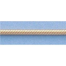 """Pure Gold 16"""" 14k Gold-Yellow 1.5mm Rd Snake Chain"""