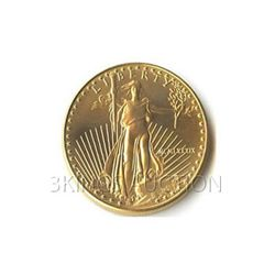 Uncirculated One-Tenth Ounce 1989 US American Gold Eagl