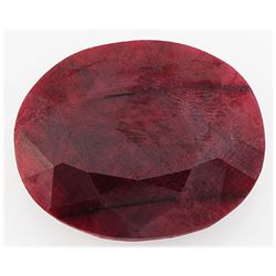 Ruby111.79ctw Loose Gemstone33x26mmOvalCut