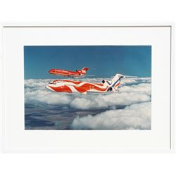 Alexander Calder Braniff Airplane, Color Photograph