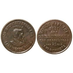 Chester Greenwood & Co. Token ME - Farmington,Franklin County -  -