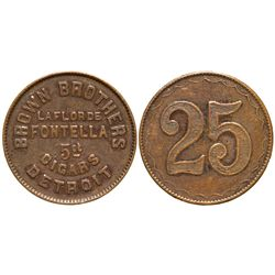 Brown Brothers MI - Detroit,Tokens