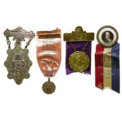 Midwest IOOF Badges MN - , - 1871, 1919, 1941, -
