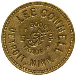 Lee Connell Token MN - Detroit,Tokens