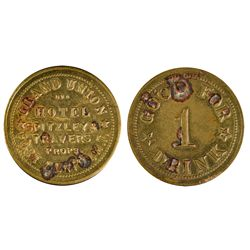 Grand Union Hotel Token ~ Fake MT - Fort Benton,Chouteau County -  -