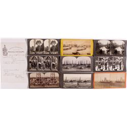 Early Oil Mining Photos PA - , - 1871 -
