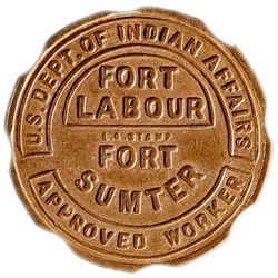 Fort Labour Token - Fake! SC - , -  -