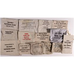 Bank Bags: Western Mountain States Collection UT - , - c1930-1990 - Tokens
