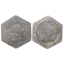 Kerrigan and Embry Arcade Token WY - Cheyenne,Laramie County -  -