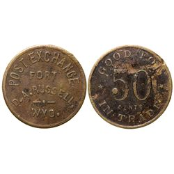 Post Exchange Fort Token WY - Fort D.A. Russell,Laramie County -  -