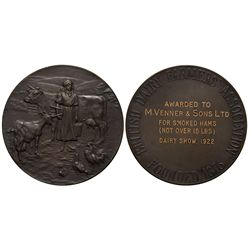 British Dairy Farmers Association Medal England - London,