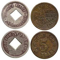 Oroville Tokens CA - Oroville,Butte County -  - Tokens