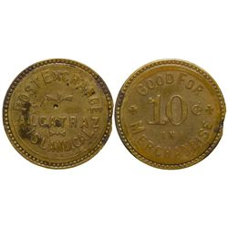 Alcatraz Island Post Exchange Token CA - San Francisco, -  -