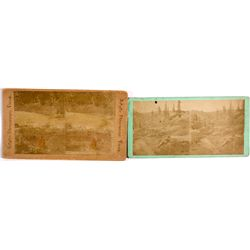 Mining Pair of Stereoviews CO - , - c1870s -