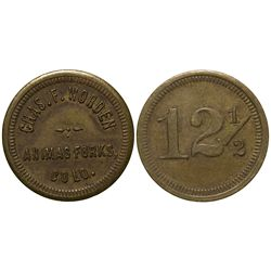 Chas. F. Worden Token CO - Animas Forks,San Juan -  -