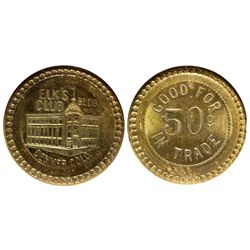 Elks Club Token CO - Denver, - c1900 -