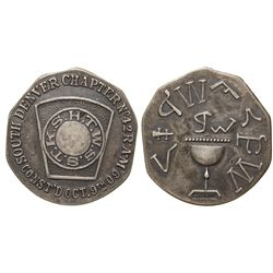 Masonic Penny CO - Denver,El Paso County -  -