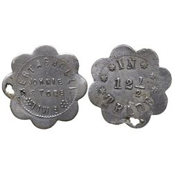 Little Johnie Store Token CO - Leadville,Lake County -  -