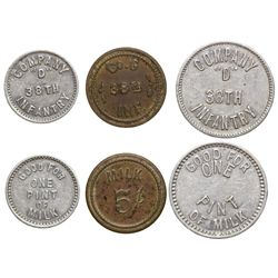 Ft. Douglas Tokens UT - Ft. Douglas, -  -