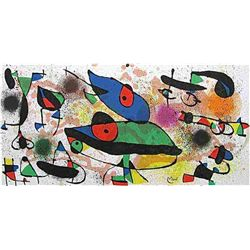 "Miro ""Sculptures Ii"" Original Lithograph, 1974"