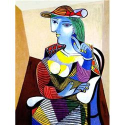Picasso  Portrait Of Marie - Therese Walter
