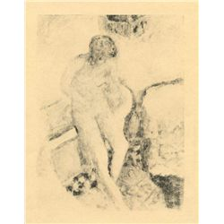 "Bonnard ""Nu A La Baignoire"" Original Lithograph, Edition Of 20"