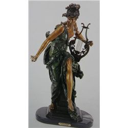 Melodie  Bronze Sculpture - Belleuse