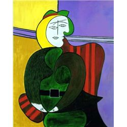 "Picasso ""The Red Armchair"""