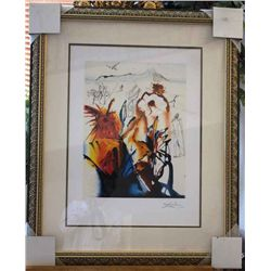 Dali Ltd Edition Lithograph