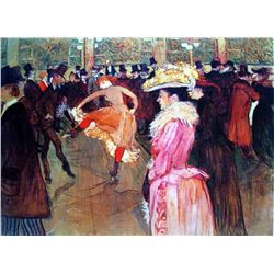 """Toulouse Lautrec """"At The Moulin Rouge Ii"""""""