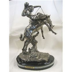 "22% Real Silver ""Wicked Pony"" Sculpture"