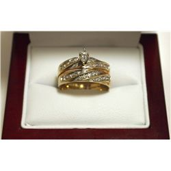 Dead Pawn Non-Native Diamond 10k Gold Women's Ring - WIC