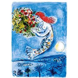 "Marc Chagall ""Bay Of Angels"""