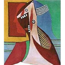 "Picasso ""Laughing Lady With Teeth Showing"""