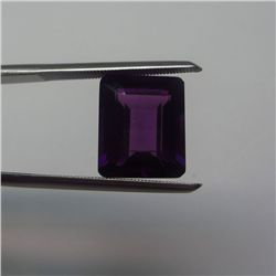 Loose Natural Amethyst 9mm x 7mm VERY NICE color tone