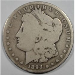 1893O Morgan $  Good mark in front of nose