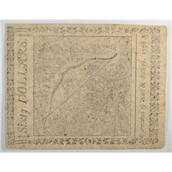 $60 Colonial Currency  Sept 26th 1778 paid in Spanish milled $ or   Gold/Silver