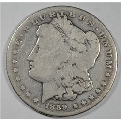1889CC  Morgan $   Good  est  $500-$525