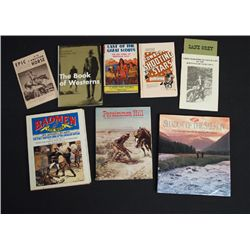 Collection of Western Theme Books and Magazines