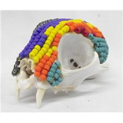 Beaded Carnivore Skull - Kills Thunder
