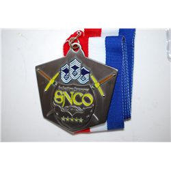 SNCO Induction Ceremony Military Challenge Medal; EST. $10-20