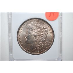 1896 Silver Morgan $1; MCPCG Graded AU50; EST. $60-80